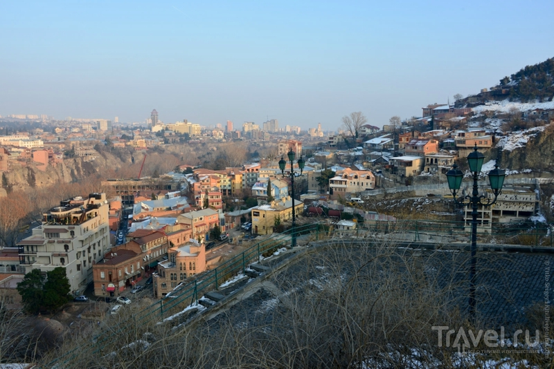 Крепость Нарикала в старом Тбилиси / Грузия