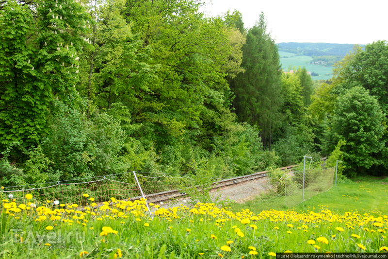 Сказочная Саксония. Аугустусбург и лесной фуникулер / Германия