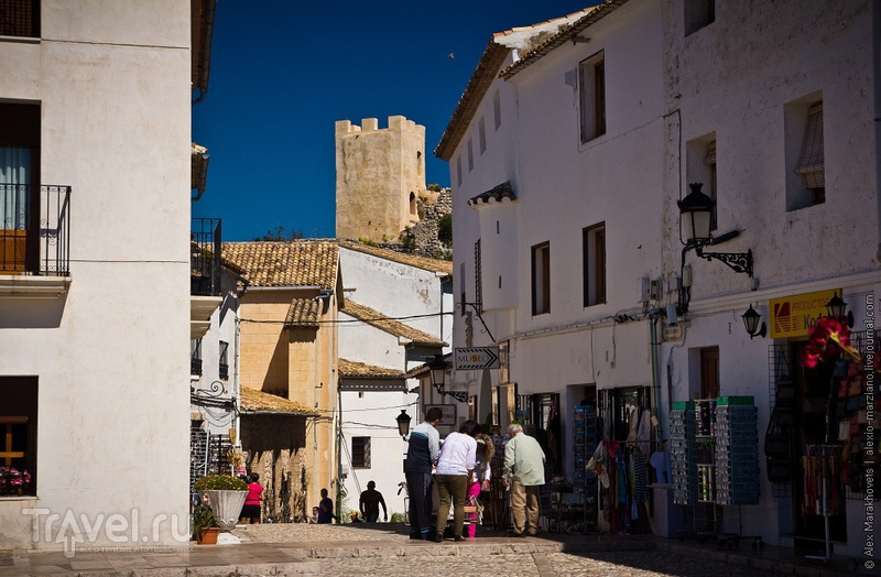 Гвадалест - испанский Бахчисарай / Фото из Испании