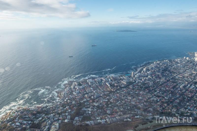 Кейптаун с высоты птичьего полета / ЮАР