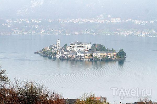 Святая гора на озере Орта / Италия