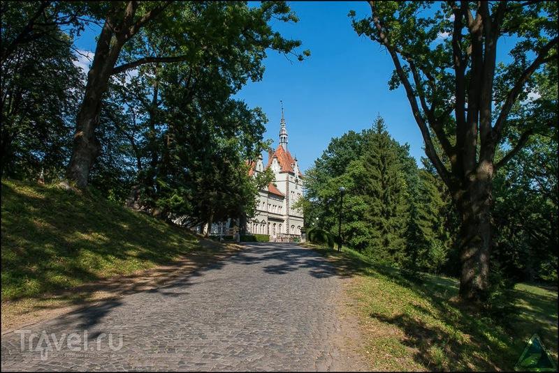 Охотничий замок Шенборнов в Закарпатье, Украина / Фото с Украины