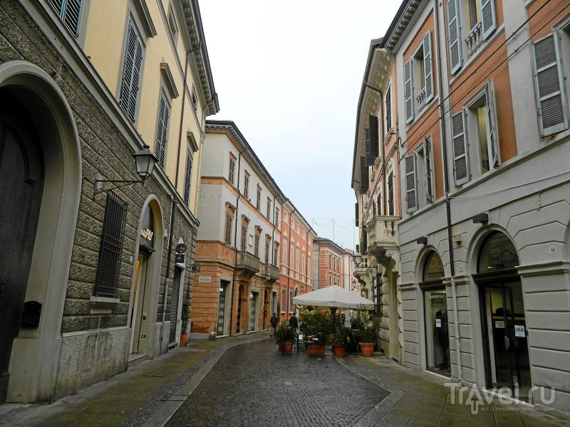 Corso Garibaldi в Форли, Италия / Фото из Италии
