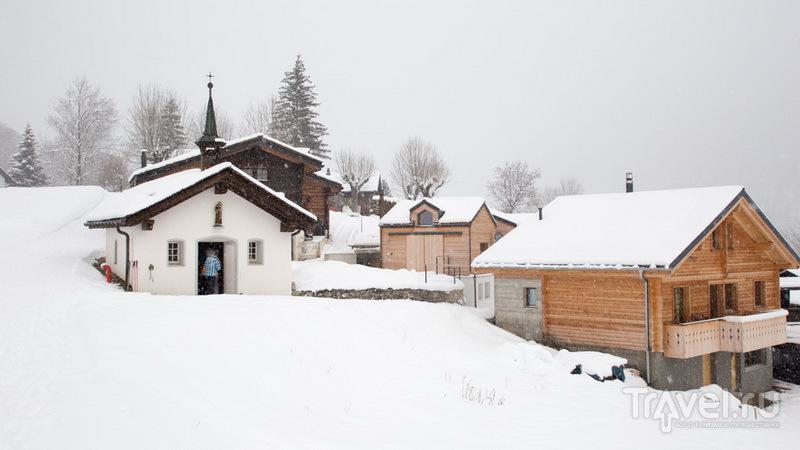 Bodmen Stubli, или гастрономический хайкинг в Лейкербаде / Швейцария