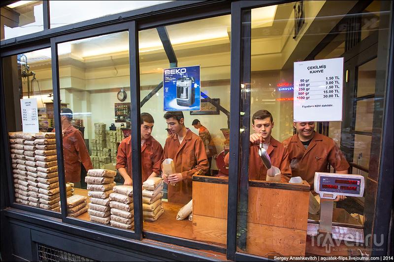 Самый старый и самый популярный магазин кофе в Стамбуле / Турция