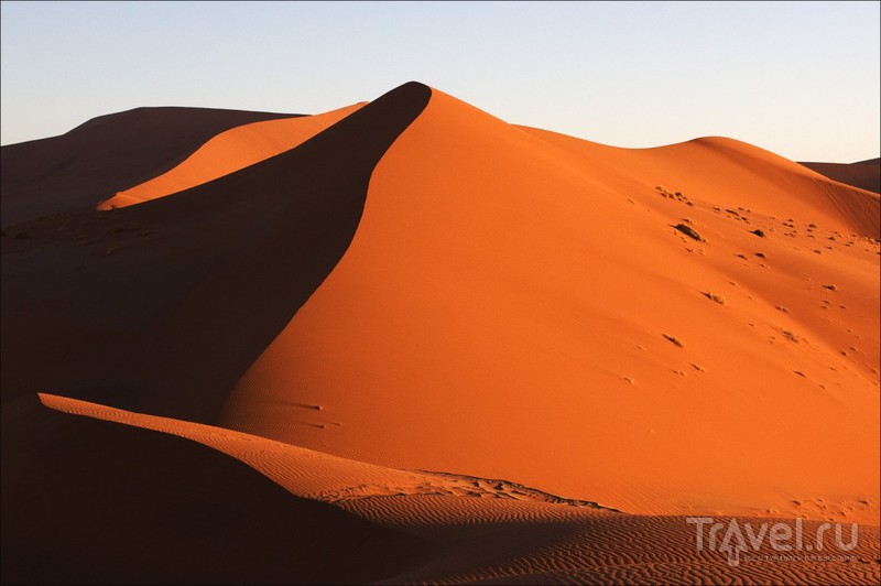 Плато Соссусфлей в пустыне Намиб, Намибия / Фото из Намибии