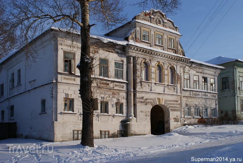 Дом купцов Рыжковых в Калязине, Россия / Фото из России