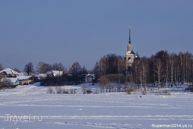 Богоявленская церковь в Калязине, Россия / Фото из России