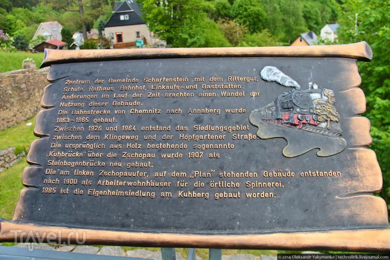 Сказочная Саксония. Шарфенштайн / Германия
