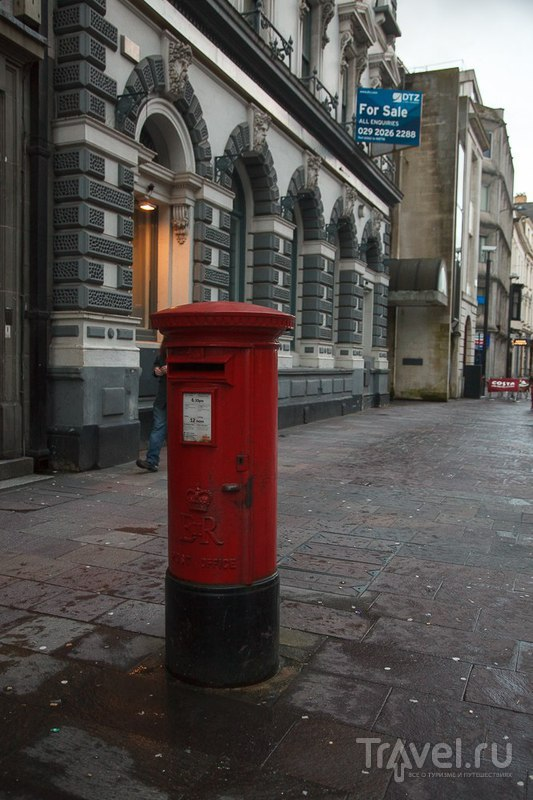 Кардифф. Уэльс. Великобритания / Фото из Великобритании