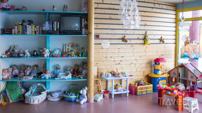 Garderie в Ла-Плани: малыши под присмотром / Франция