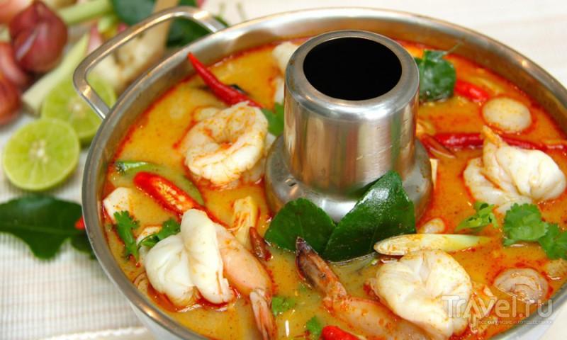 Для гастро - гурмано - ненасытных путешественников: топ-5 тайской кухни / Таиланд