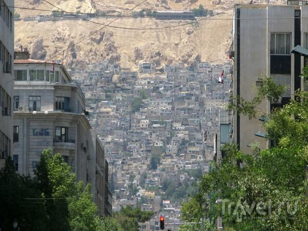 В городе Дамаск, Сирия / Фото из Сирии