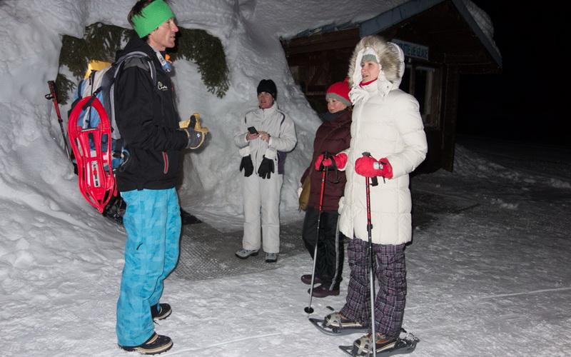 Деревня Иглу в Лез-Арке: некоторые любят похолоднее