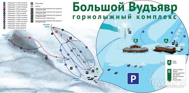 """Горнолыжный комплекс """"Большой Вудъявр"""" / Россия"""