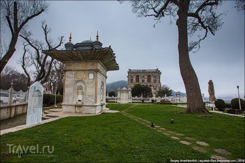 Куда почти не доходят туристы. Вилла султана на берегу Босфора / Турция