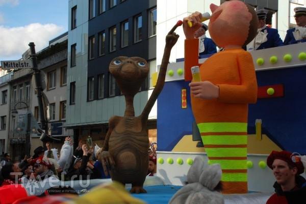 Карнавал в Кёльне 2014. Розовый понедельник / Германия
