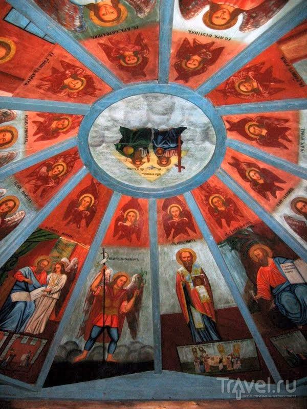 Небеса Никольской часовни в Усть-Поче / Россия