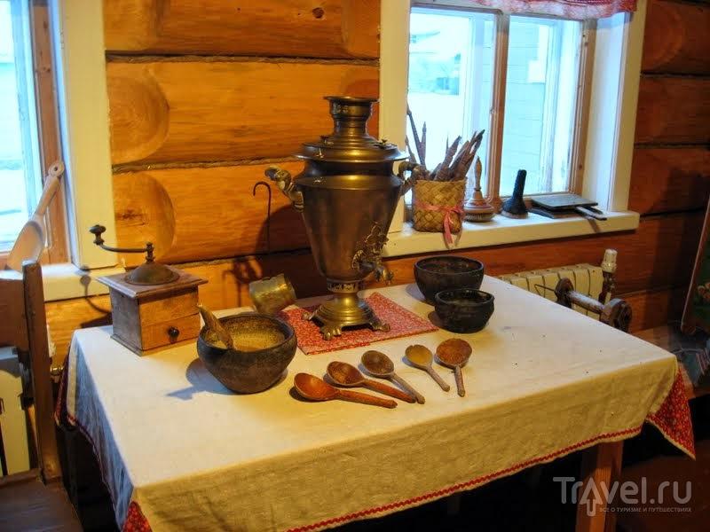 Экспонаты из музея местного быта в Вершининском визит-центре / Россия