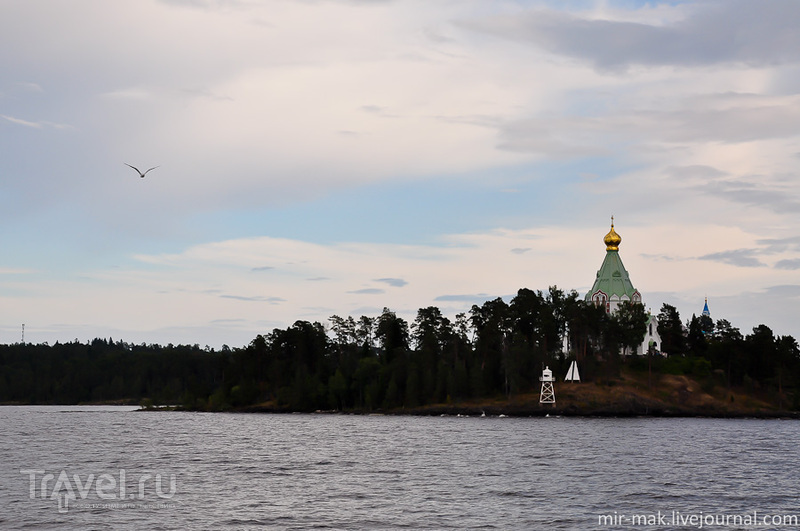 Дорога на Валаам / Фото из России