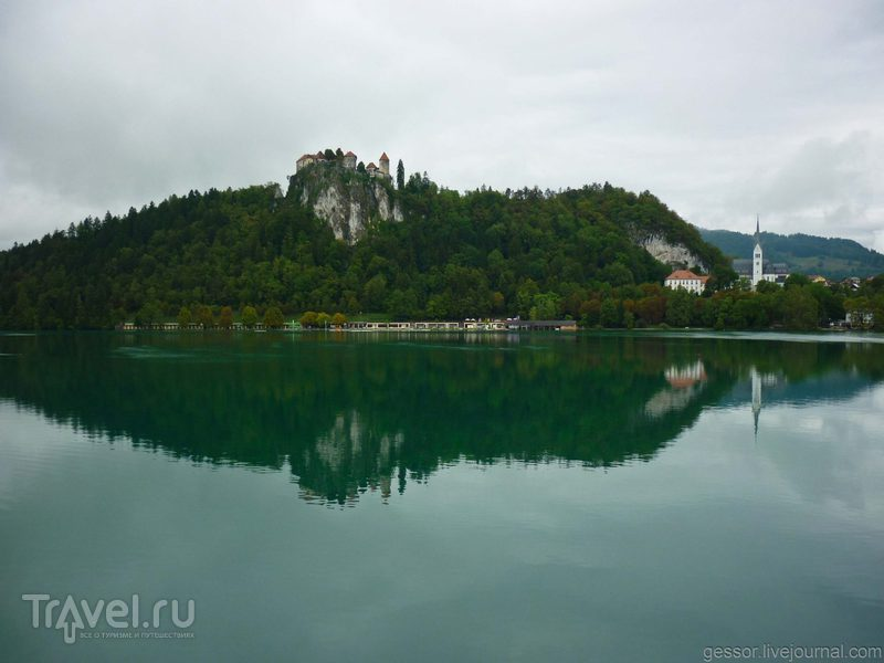 Бледской озеро. Словения / Фото из Венгрии