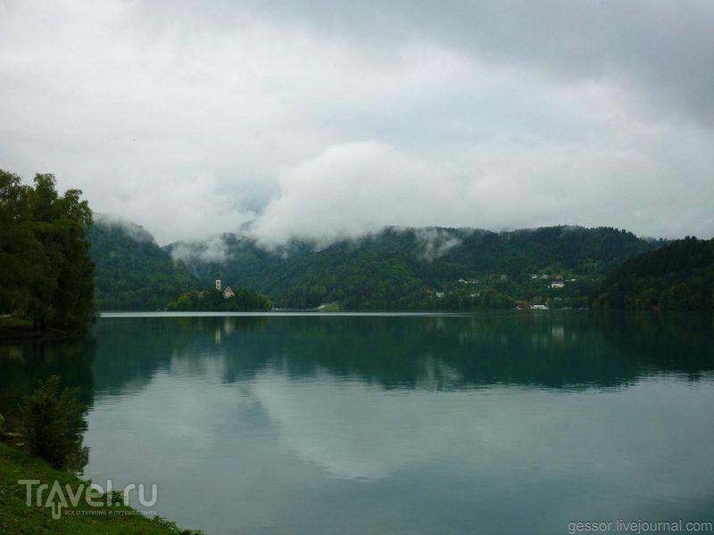 Словения. Любляна. Озера Блед и Балатон / Фото из Венгрии