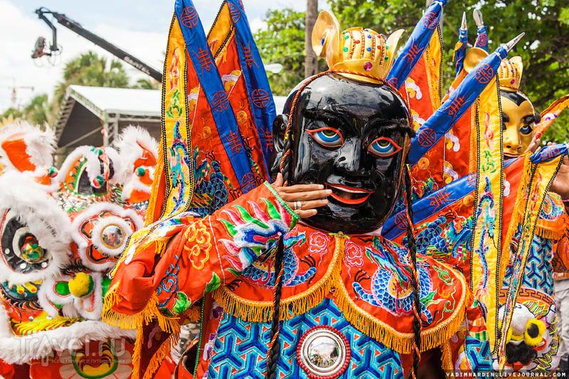 Карнавал в Санто-Доминго. Доминикана  / Фото из Доминиканской Республики