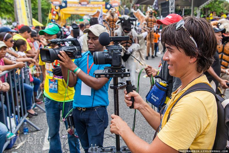 Карнавал в Доминикане в Санто-Доминго / Фото из Доминиканской Республики