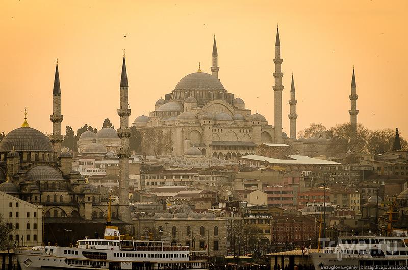 Мечеть Сулеймание, Стамбул / Фото из Турции