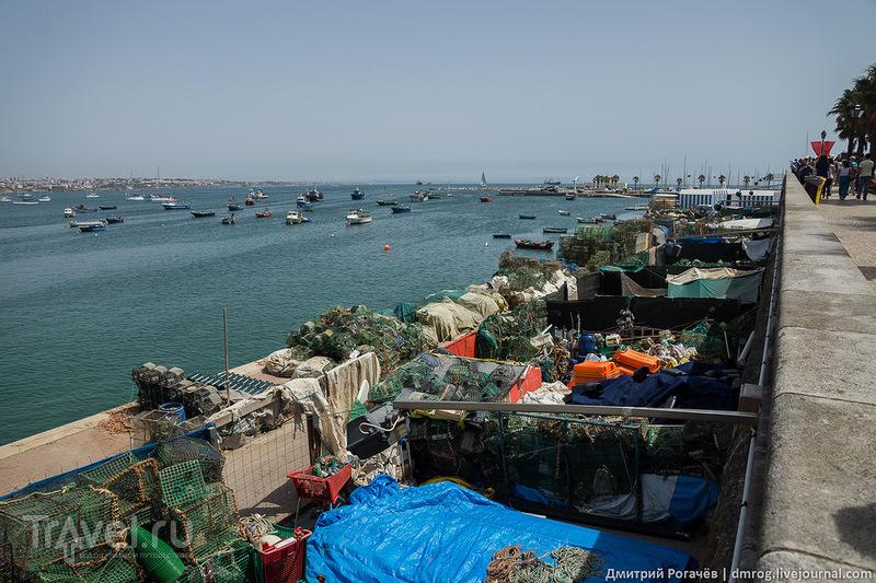 Рыболовные принадлежности / Фото из Португалии