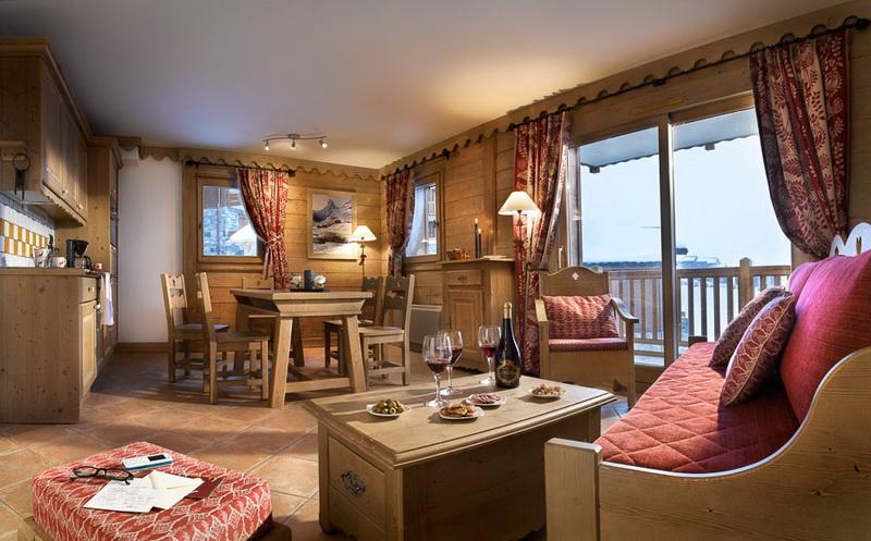 Четыре комнаты в Les Granges Du Soleil