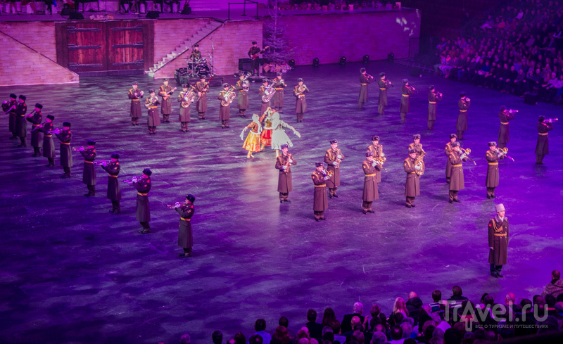 Оркестр из России на Christmas Tattoo-2013