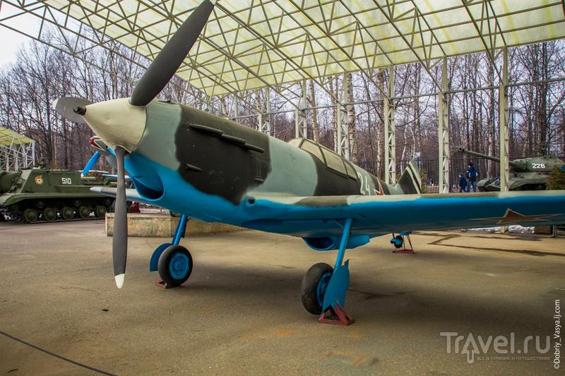 Выставка военной техники в Парке Победы / Россия