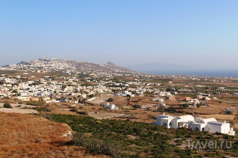 Капля лавы в море туризма: Санторини / Фото из Греции