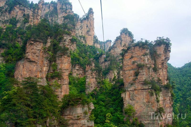 Горы Аватара в Zhangjiajie / Китай