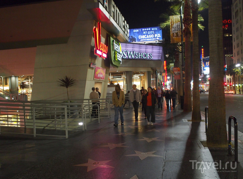 "Лос-Анджелес. Голливудская ""Аллея славы"" / США"