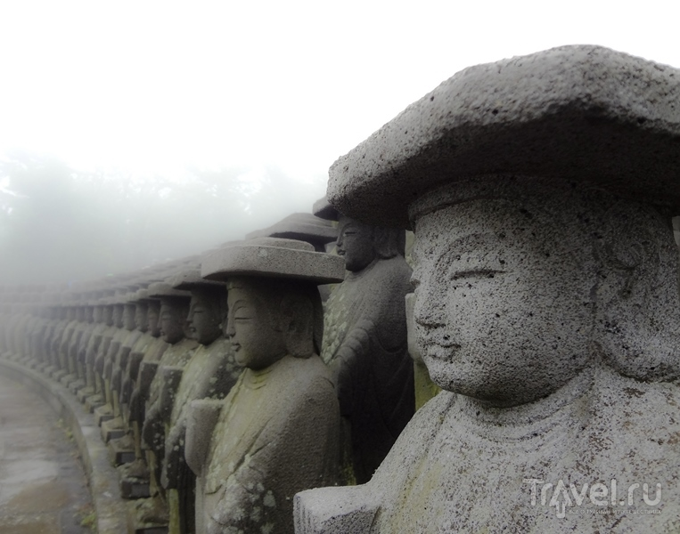 Cнега главной горы Южной Кореи - Халласан, а также храм Кванымса / Южная Корея