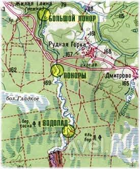 Каньон двоякой реки Рагуши / Россия