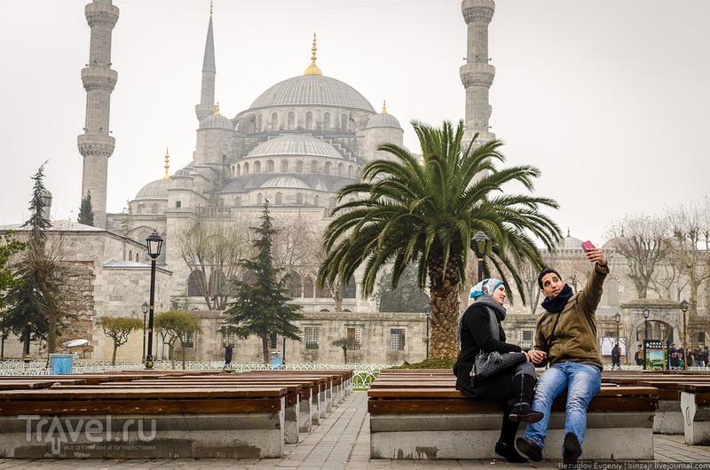 На площади Султанахмет в Стамбуле, Турция / Фото из Турции