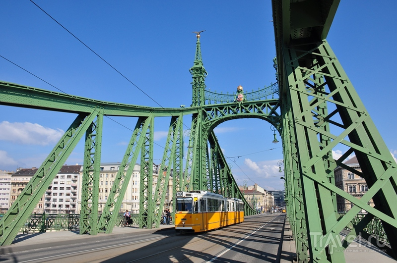 Мост Свободы. Венгрия, Будапешт, Будапешт, Венгрия / Фото из Венгрии