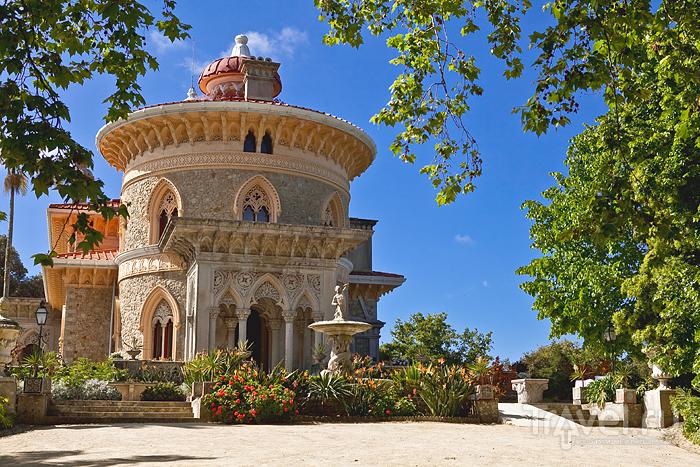 В усадьбе Монсеррат, Португалия / Фото из Португалии