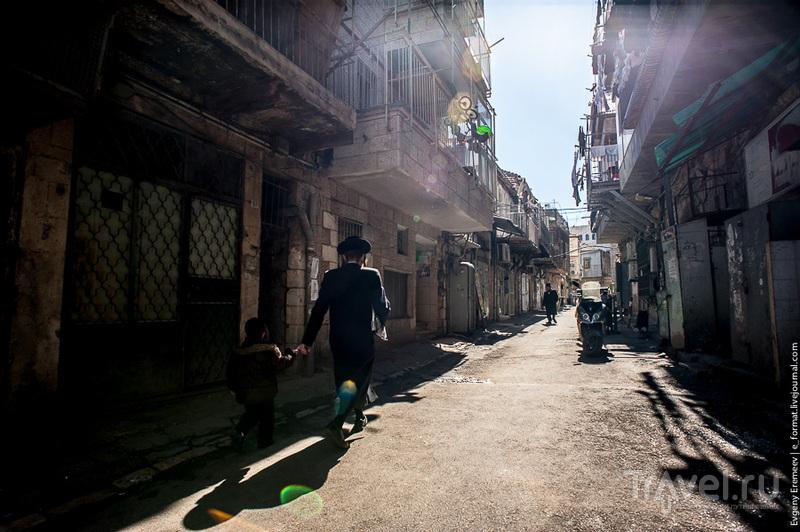 Релиниозный квартал Иерусалиме / Фото из Израиля