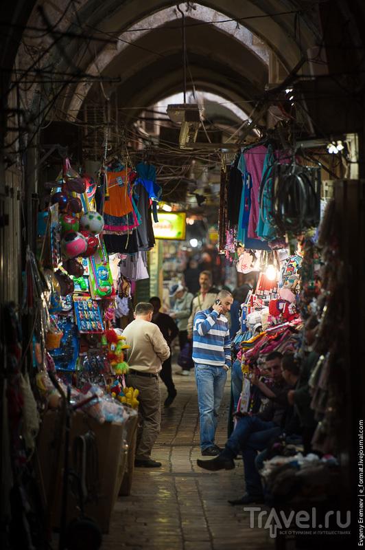 Иерусалим,.Типичный арабский квартал / Фото из Израиля