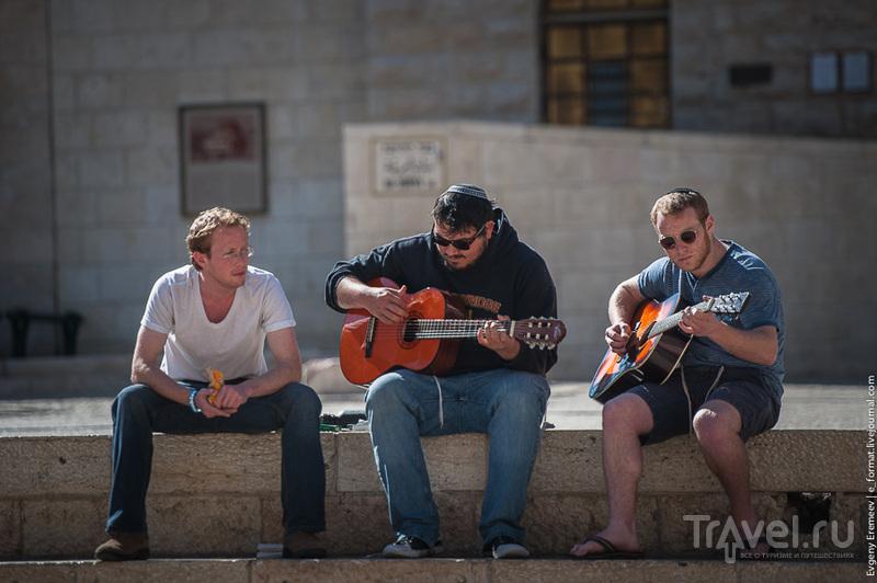 Иерусалим,.Нетипичный Арабский квартал / Фото из Израиля