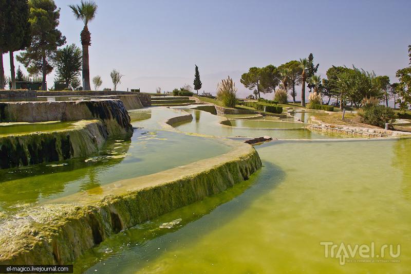 Водные террасы. Памуккале, Турция / Фото из Турции