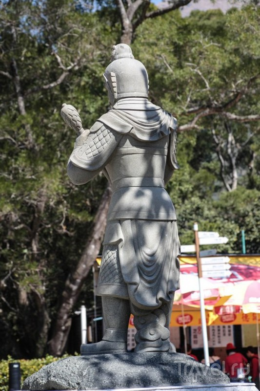 Большой Будда на острове Лантау / Гонконг - Сянган (КНР)