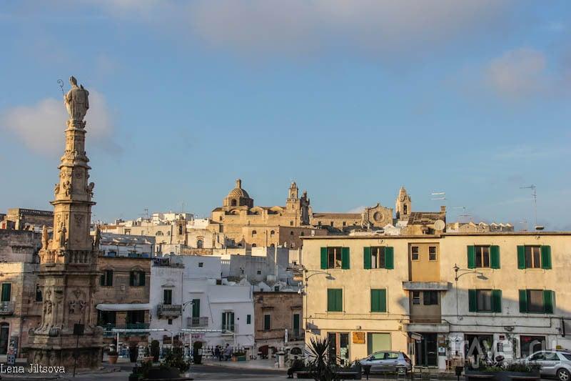 Белый город Остуни / Италия