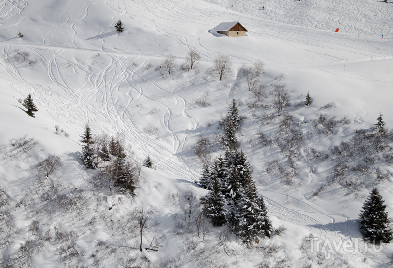 Внетрассовое катание популярно в Ла-Плани / Фото из Франции