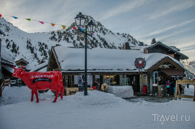 Ресторан La Vache Rouge / Фото из Франции
