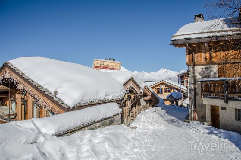 Пезе-Валландри под снегом / Фото из Франции